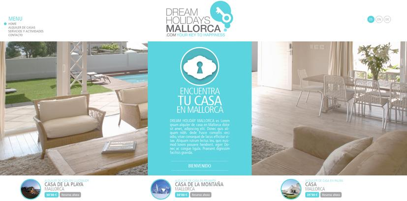 Dream Holidays Mallorca / Agencia de alquiler vacacional on-line